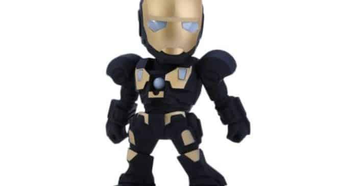 Moins de 9€ l'enceinte Iron Man Bluetooth