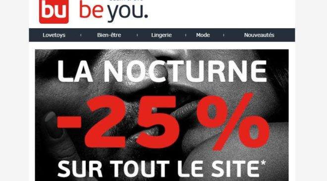 Nocturne Adam et Eve - Be You