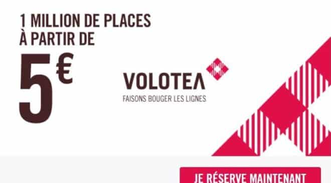 Operation 1 million de billets d'avion Volotea