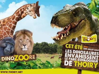 Pack Zoo Thoiry + repas pas cher