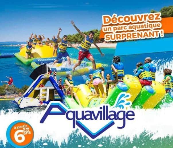 Parc aquatique Aquavillage Hyères moins cher