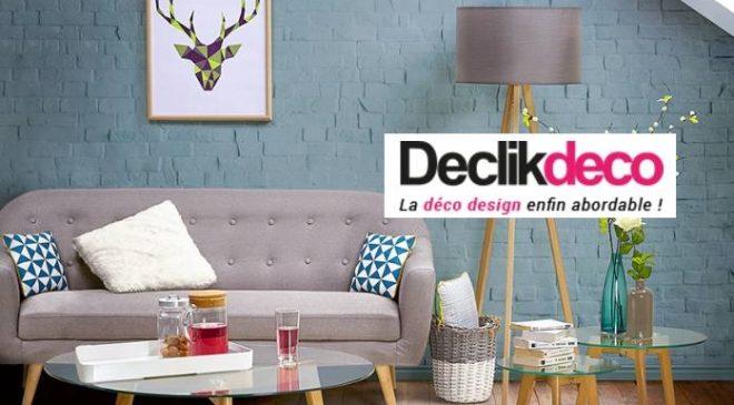 Rosedeal Declikdeco bon d'achat moitié prix