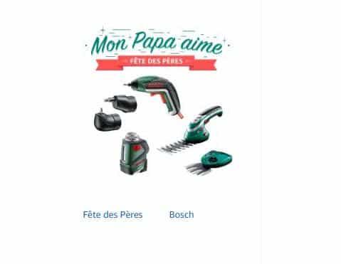 Fête des Peres avec Bosch