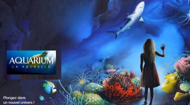 Visite de l'aquarium La Rochelle avec audioguide pas cher