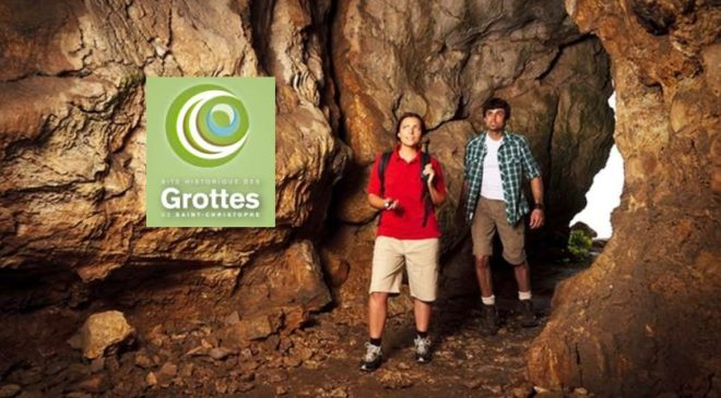Visite des Grottes de St Christophe moitié prix