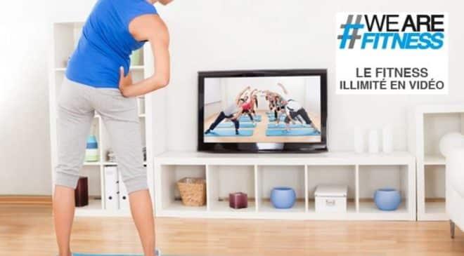We are Fitness acces fitness illimite en ligne moitié prix