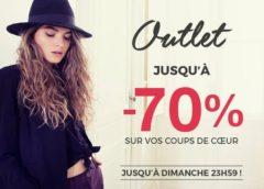 Week-end Outlet DDP ! Jusqu'à -70% + livraison gratuite (uniquement jusqu'à dimanche)
