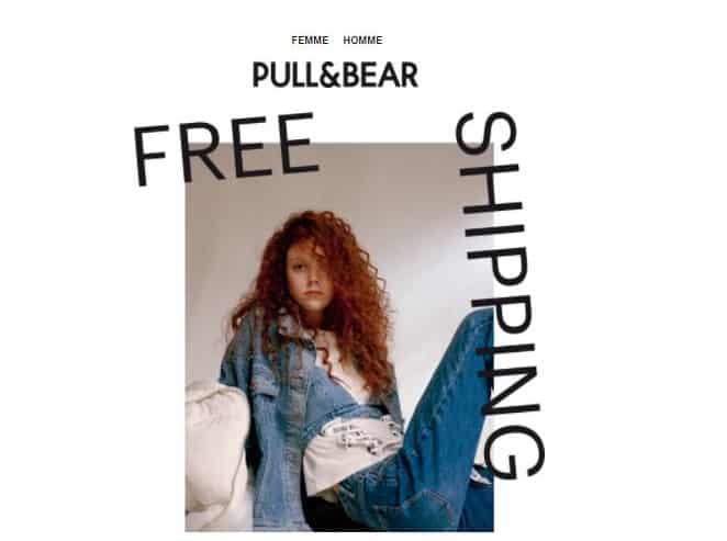 ivraison gratuite sans minimum sur Pull & Bear