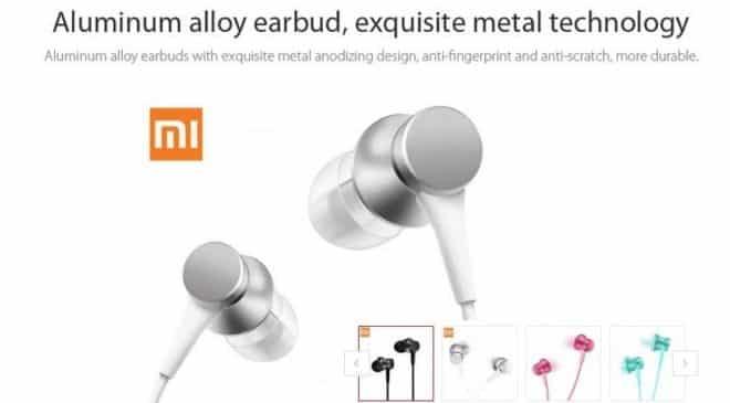 4,44€ les ecouteurs Xiaomi Piston