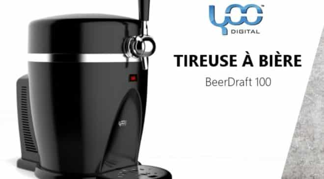 59,99€ la tireuse à bière Beer Draft 100 Yoo Digital