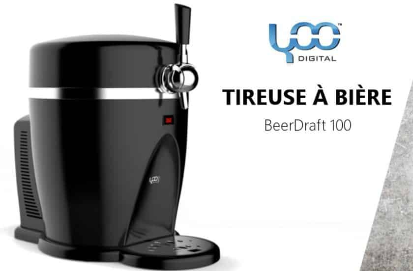 59,99€ la tireuse à bière Beer Draft 100 Yoo Digital