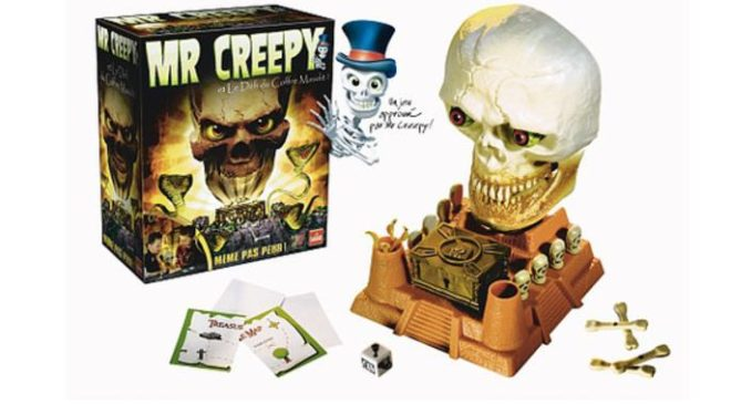 7,49€ le jeu Mr. Creepy's Défi du coffre maudit