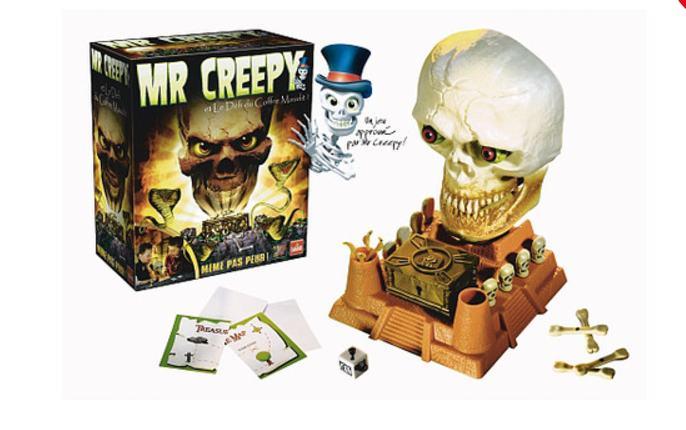 7,49€ le jeu Mr. Creepy's Défi du coffre maudit
