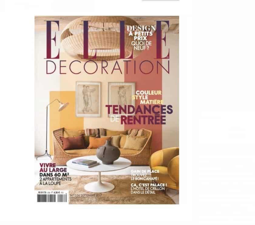 Abonnement magazine ELLE Décoration pas cher