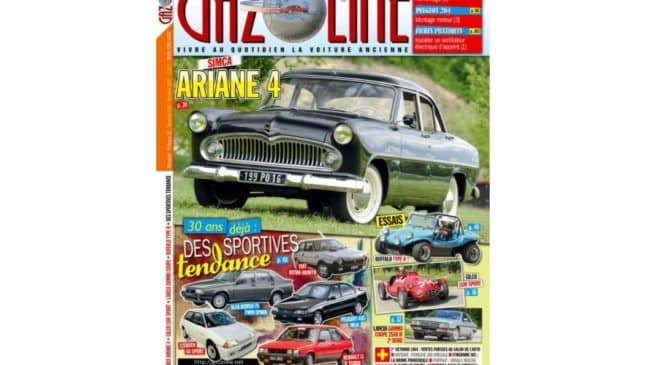 Abonnement au magazine Gazoline pas cher : 21€ les 11 numéros au lieu de 46,2€