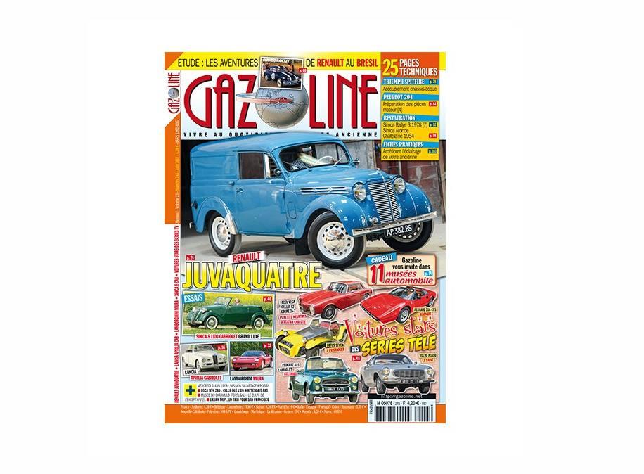 abonnement au magazine gazoline pas cher 21 l 39 ann e au lieu de 46. Black Bedroom Furniture Sets. Home Design Ideas