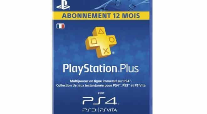 Carte 1 an Playstation Plus pas chère