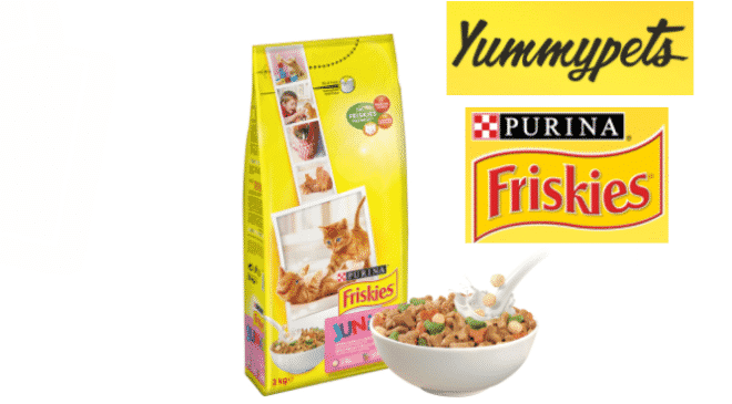 Echantillons gratuits FRISKIES Junior