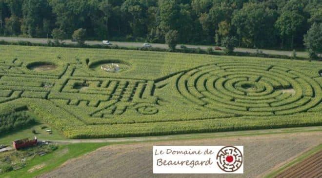 Labyrinthe de Beauregard pas cher