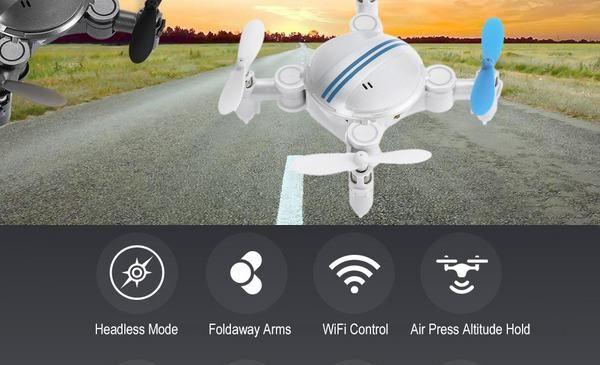 Mini-drone avec camera pas cher : 17,86€ le mini drone Z201YS