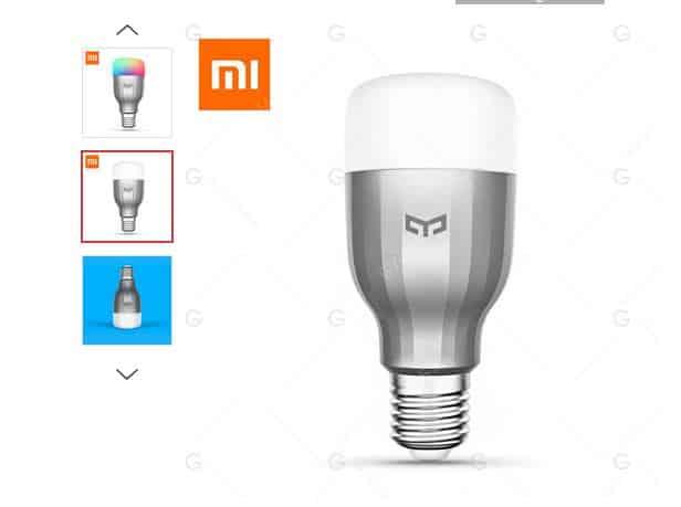 Moins de 14€ l'ampoule connectée Xiaomi Yeelight RGBW