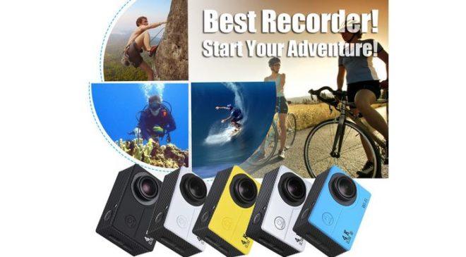 Moins de 19€ la caméra Sport WI-FI V3 4K Full HD 16Mpx