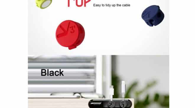 clip pour câble magnétique à 1,80€ port inclus