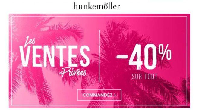 Pré-soldes Hunkemöller -40%