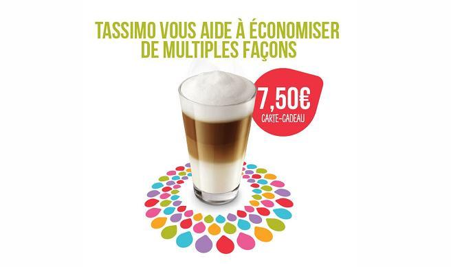 Remise sur Tassimo de 7,50€