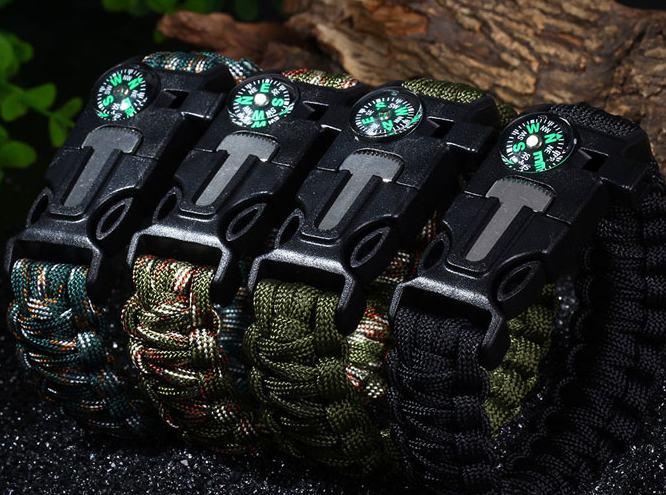 Seulement 1,35€ le bracelet de survie