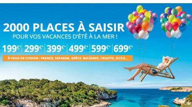 Vente flash Carrefour Voyages : 2000 séjours