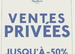 Vente privée de pré-soldes Pepe Jeans