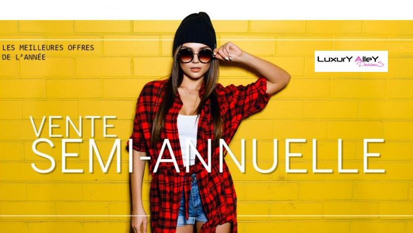 Vente semi-annuelle Luxury Alley