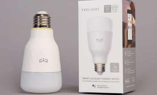 Ampoule Connectée Xiaomi Yeelight 10w Blanche