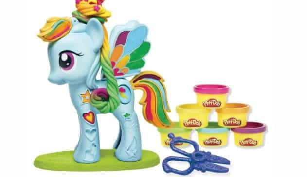 coffret pâte à modeler My Little Pony Chevelure de Rêve de Play-Doh