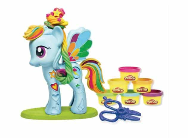 coffret pâte à modeler My Little Pony Chevelure de Rêve de Play-Doh