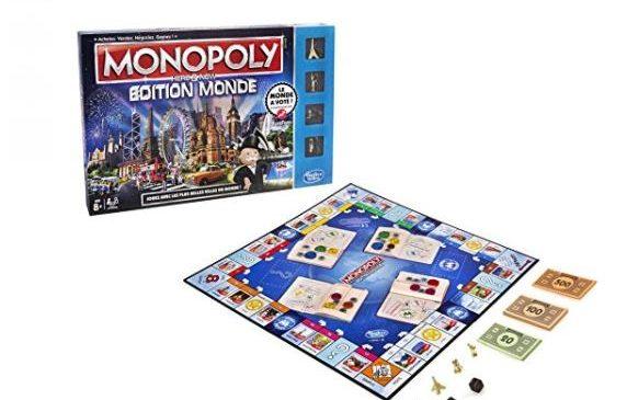 jeu Monopoly Edition Monde pas cher