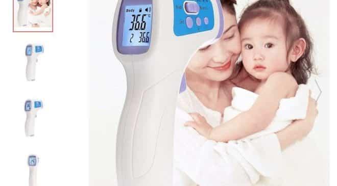 thermomètre infrarouge médical sans contact