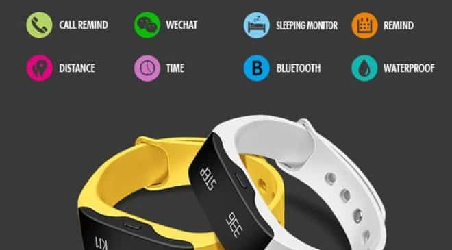 13,26€ la smart montre Sports SKMEI Real-time L28T port inclus