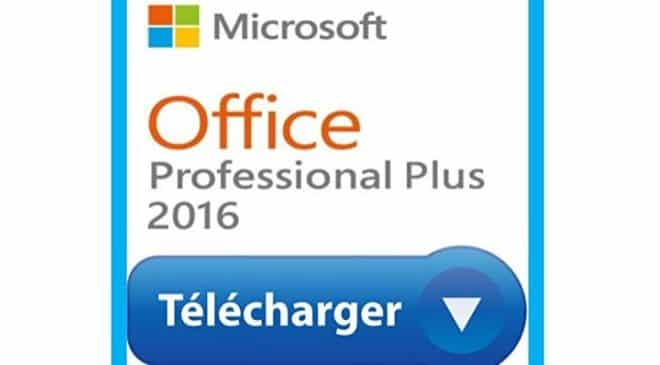 14,9€ Microsoft Office Professionnel 2016 Plus