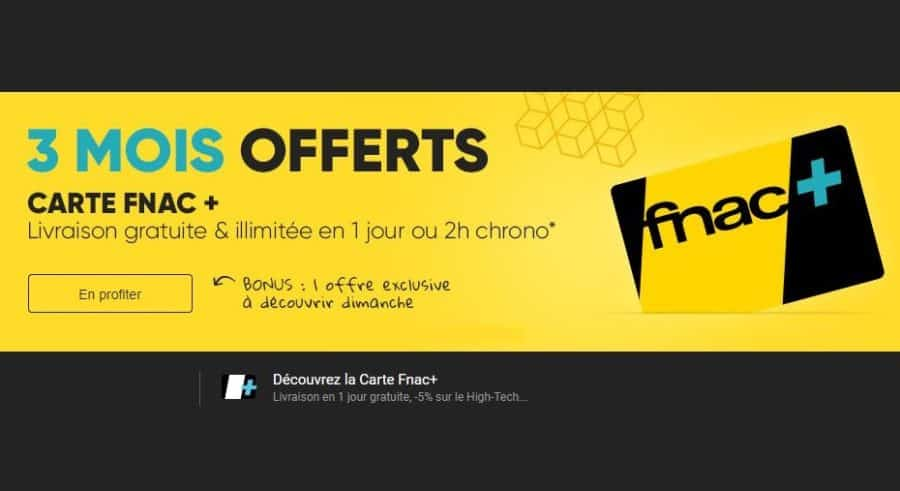 3 mois de souscription carte fnac gratuit livraison gratuite 24h. Black Bedroom Furniture Sets. Home Design Ideas