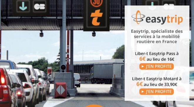 6€ le badge télépéage Easytrip