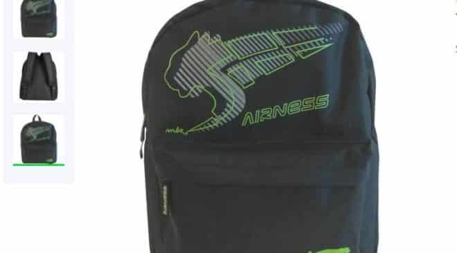 7,99€ le sac à dos Airness
