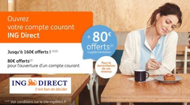 Bon plan sur l'ouverture compte ING Direct