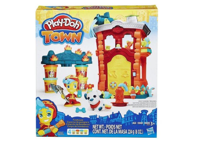 Caserne pompier Town Play-Doh pas chère