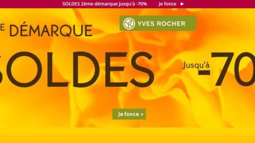 Deuxième démarque des soldes Yves Rocher