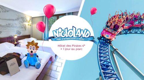 Jusqu'à -50% sur votre séjour Parc Nigloland