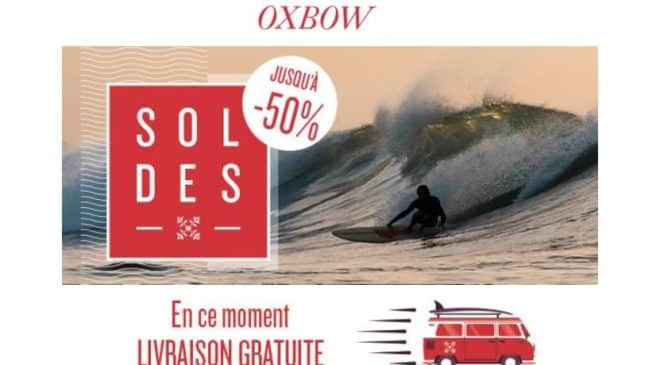 Nouvelle démarque des Soldes Oxbow livraison gratuite