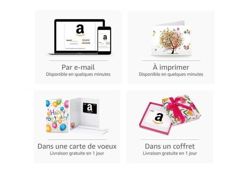 Primeday 1 chèque-cadeau Amazon de 30€