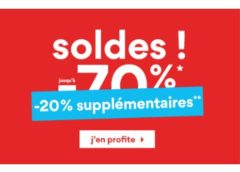 20% de remise supplémentaire sur les Soldes La Halle